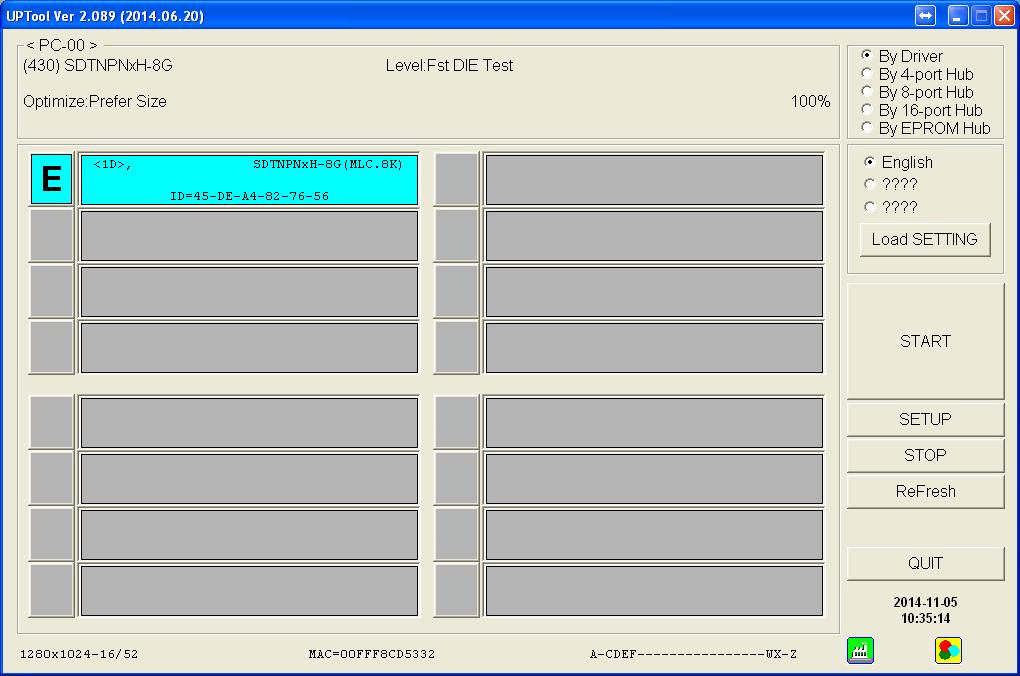 Pendrive EMTEC 8GB  - System operacyjny widzi tylko kontroler Phison 2251-67