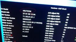 Toshiba 40L7335D - Po wgraniu firmware przez USB jest obraz ale brak dźwięku