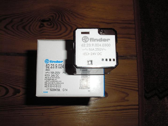 [Sprzedam] Przeka�niki finder 3S 16A 24VDC 62.23.9.024.0300.