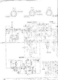 Radio lampowe Melodia 16 - szukam schematu.