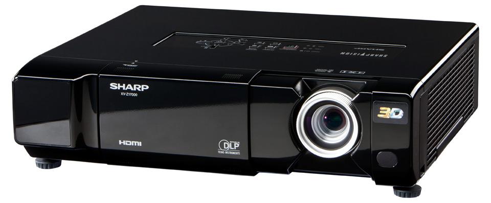 Sharp XV-Z17000 - nowy projektor DLP 1080p 3D o jasno�ci 1600 lumen�w