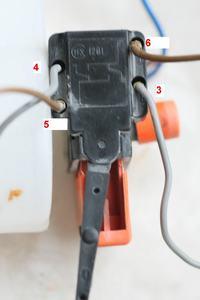 Regulator obrotów z wykorzystaniem wyłącznika wiertarki (HX1201) i przedłużacza