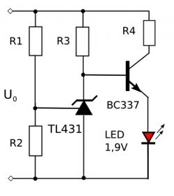 Wskaźnik naładowania akumulatora NiMH