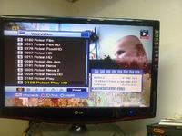 Dekoder Ferguson HF 8900 HD,pikselowanie obrazu.