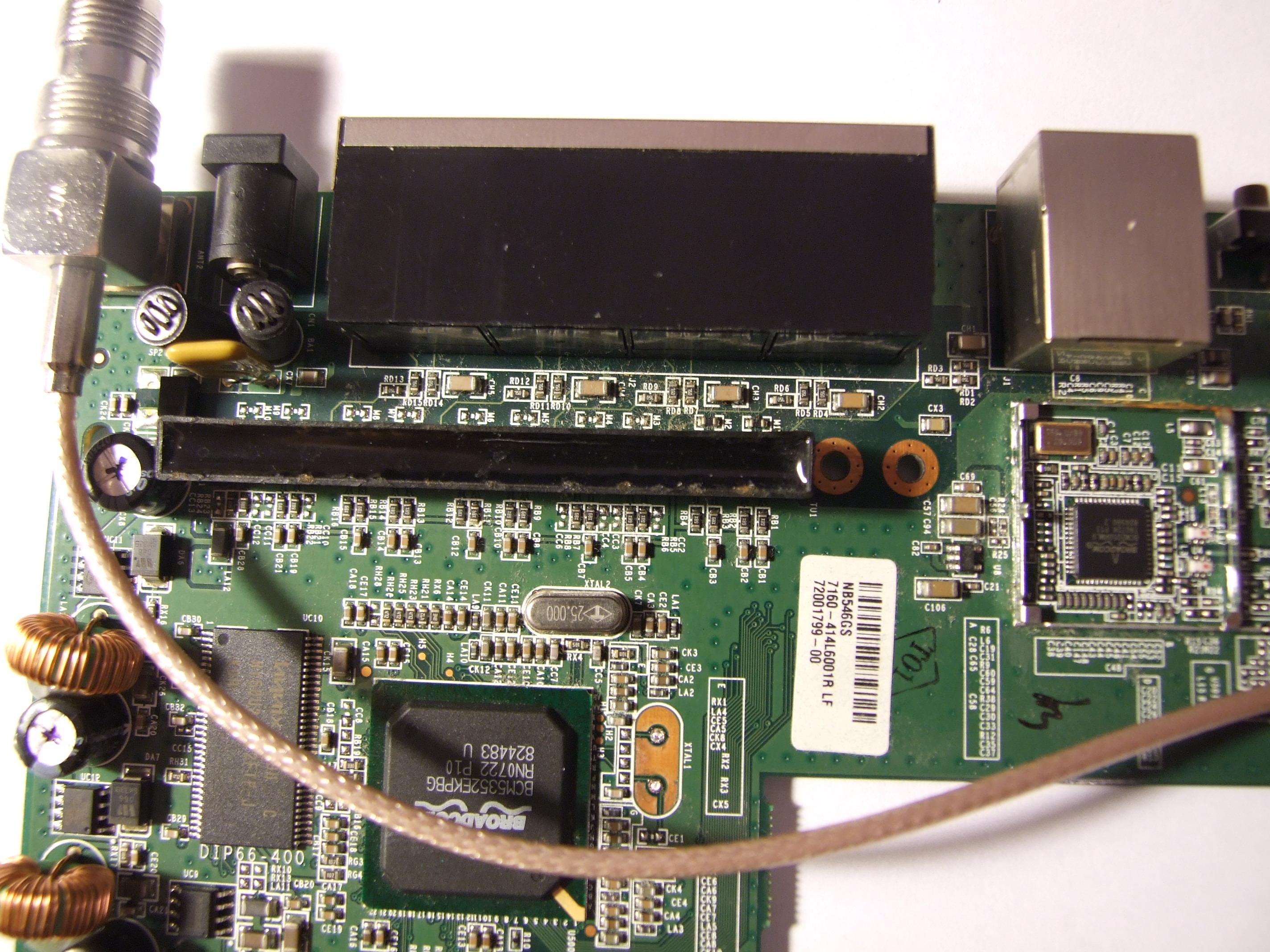 Naprawa WRT54GL v1.1 uszkodzony LAN?
