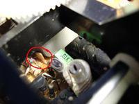ZRK RM 222 elementy głowicy. - Cewki i trymery.