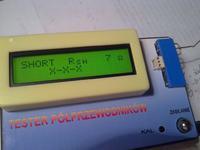 Tester elementów półprzewodnikowych.