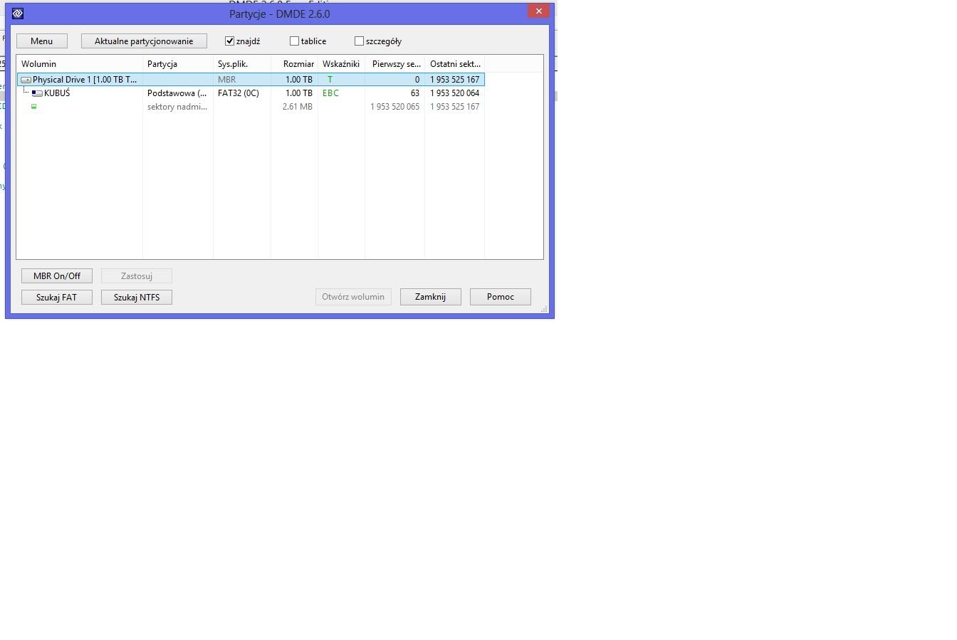 ADATA HD710 - Nie wida� folder�w