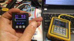 Elektroniczny wyswietlacz cisnienia powietrza (bar)