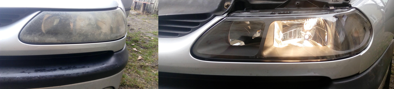 Renault Laguna 98 Phii Wymiana Reflektorów Przednich