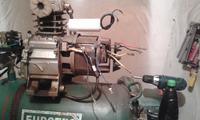 Kompresor Eurotec TP-209 - podłączenie przewodów