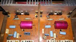 Wzmacniacz przeciwsobny - duży prąd z zasilacza podczas startu start