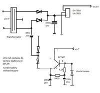kamera pogłosowa DDL 06 plus brak transformatora
