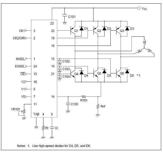 Silniki krokowe 3 liniowe CNC