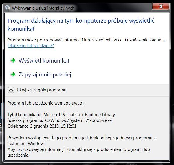 Win7 Lexmark - Drukarka Lexmark pod wifi i d�ugie �adowanie systemu