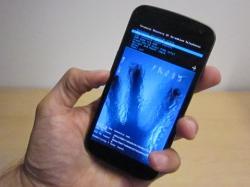 Zamrażarka pomaga odczytać hasło z telefonu z Androidem