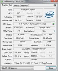 Gigabyte H61M S2pv 2.1 Sterowniki Intel HD
