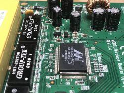 Wnętrze routera WiFi TP-Link TL-WR340G, analiza płytki