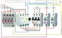Instalacja elektryczna - wyzwala wyłącznik różnicowoprądowy