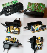 Naprawa zasilacza 12V 1A od routera