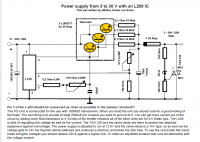 Budowa prostego zasilacza Transformatorowego 13,8V (poszukuję schematu)