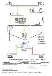 Przeróbka schematu instalacji elektrycznej do papaja