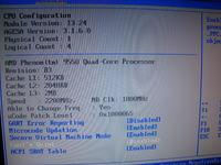 Phenom Quadcore 9550. Problem z taktowaniem.