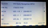 Polskie MENU do VW MDF 2 (DX)