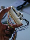 Mały projektor laserowy na PIC16F877