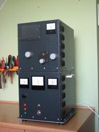 Wzmacniacz mocy KF na GU 81.