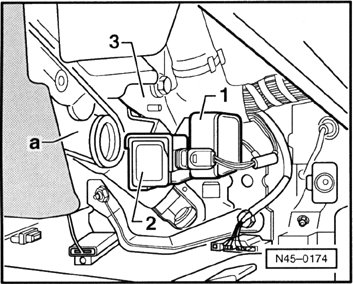 VW GOLF 4 Problem z ESP -świecąca kontrolka