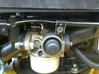 Kosiarka z silnikiem Tecumsech BVS-143 Obroty