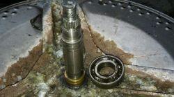 Hoover HNWL6136 - Wymiana łożyska bębna