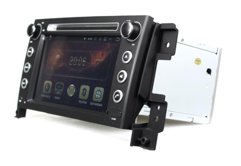 Radionawigacja CUSP CP - Awaria slotu kart SD w dedykowanej nawigacji w Suzuki