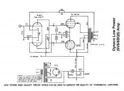 Schemat dobrego wzmacniacza lampowego o mocy do 20W
