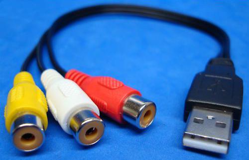 Jak podłączyć kamerę Canon z USB i HDMI do monitora z RCA?