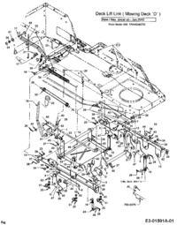 Instrukcja naprawy traktorka ogrodowego MTD B/115