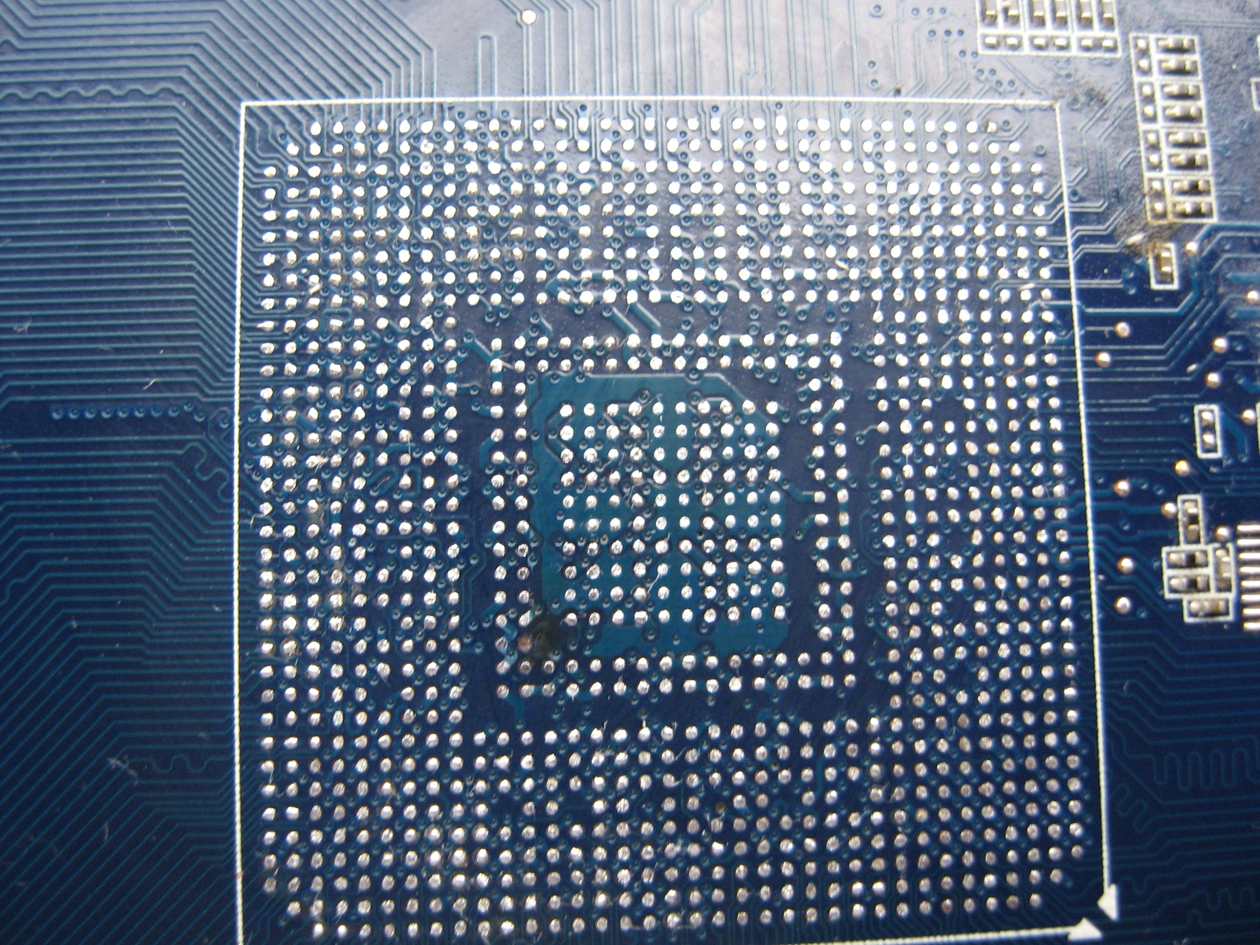 reballing gpu nvidia G92 Asus geforce 8800gt top
