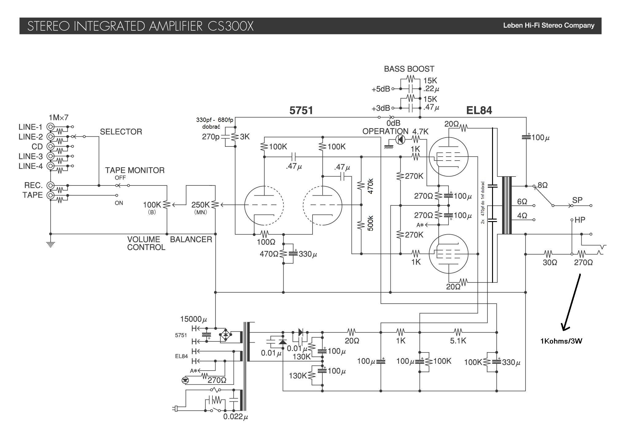 El84 Pp Jaki Wzmacniacz Wybra 5 2x5w Stereo Audio Amplifier Based Ta7227 Circuit Diagram