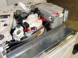 AEG Favorit Sensorlogic FAVORIT55010VIL -Cały czas wypompowuje wodę