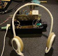 Hybrydowy wzmacniacz słuchawkowy na ECC82 i IRF510
