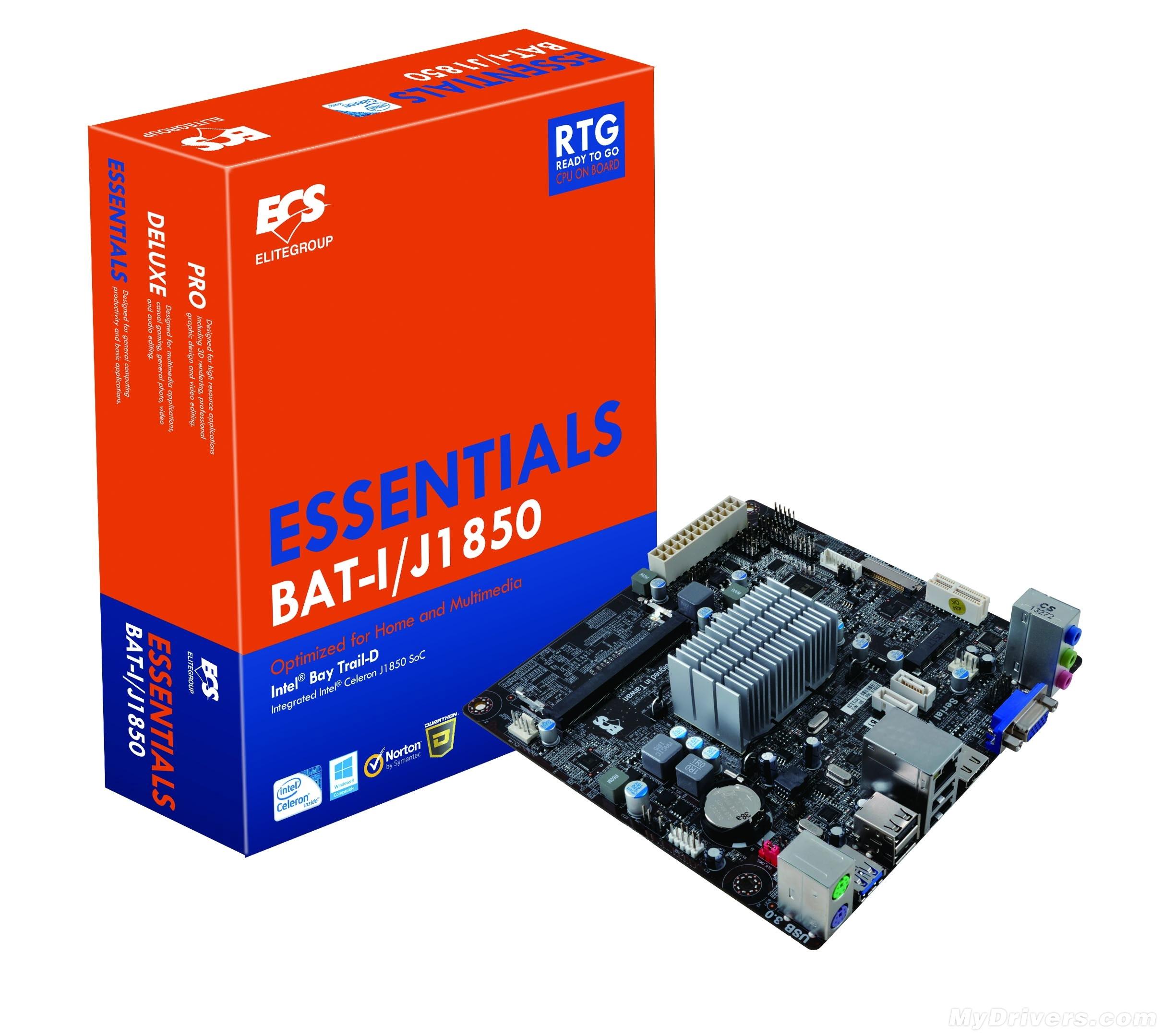 ECS BAT-I/J1850 - p�yta Mini-ITX ze zintegrowanym uk�adem Celeron J1850