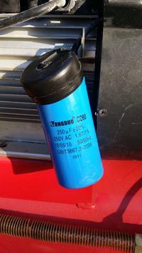 Kompresor dwutłokowy olejowy - Ciężko startuje, grzeje się, wywala bezpiecznik