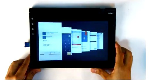 Notion Ink Adam na wideo (tablet)