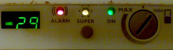 Electrolux ERB3046 - alarm