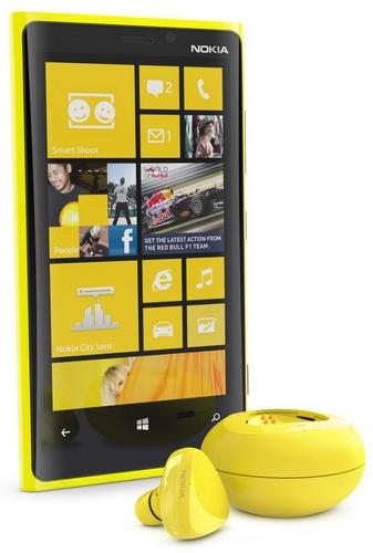 Bezprzewodowy zestaw Nokia Luna Bluetooth z bezprzewodowym �adowaniem