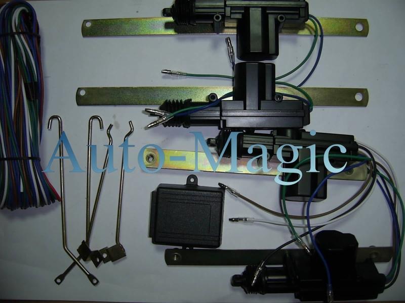 Astra G  - Monta� uniwersalnego centralnego zamka + sterownik radiowy noxon