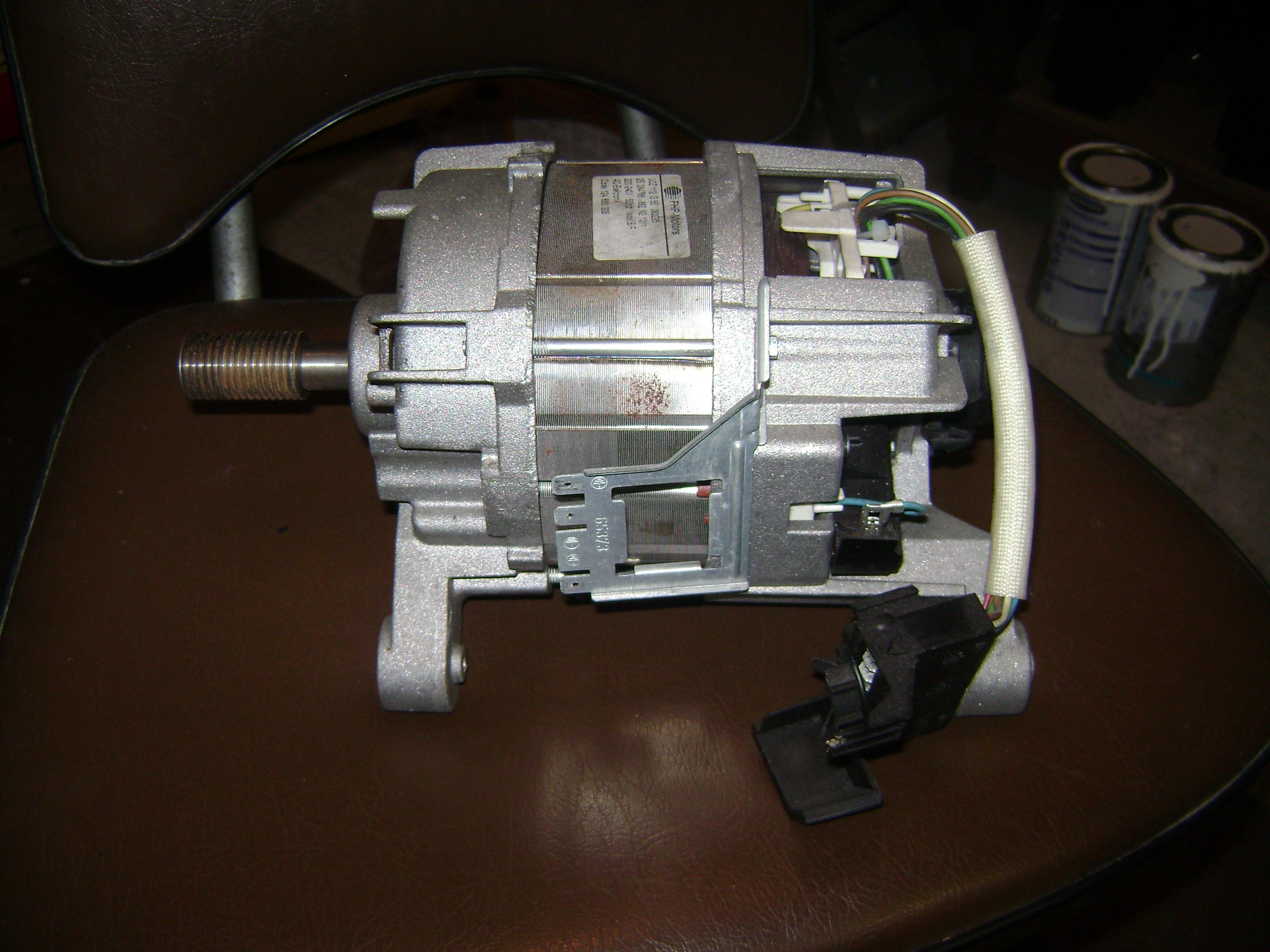 Silnik pralki electrolux - Jak pod��czy� do pr�du?