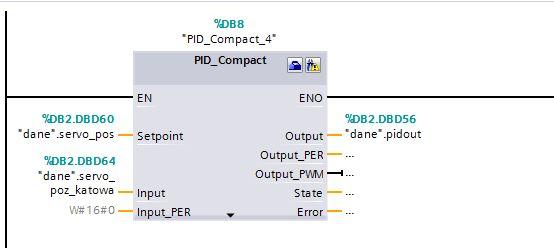 S71200 - SEW poprawne nastawy PID
