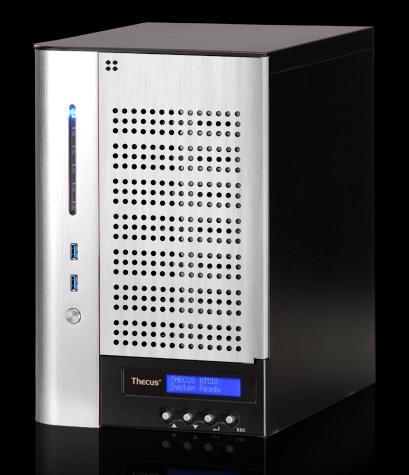 Thecus Vision N7510 - serwer NAS z 7 zatokami dla dysków i procesorem Intel Atom
